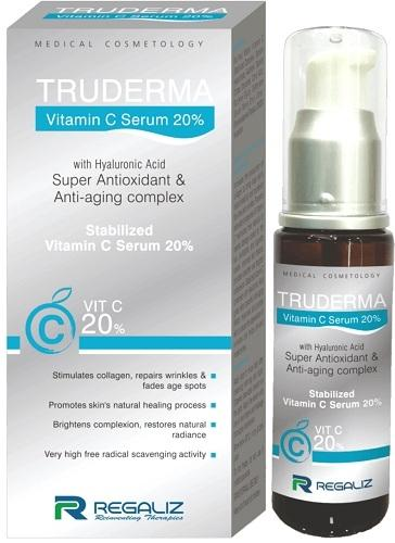 Truderma Stabilized Vitamin C Serum 20% - 20ml