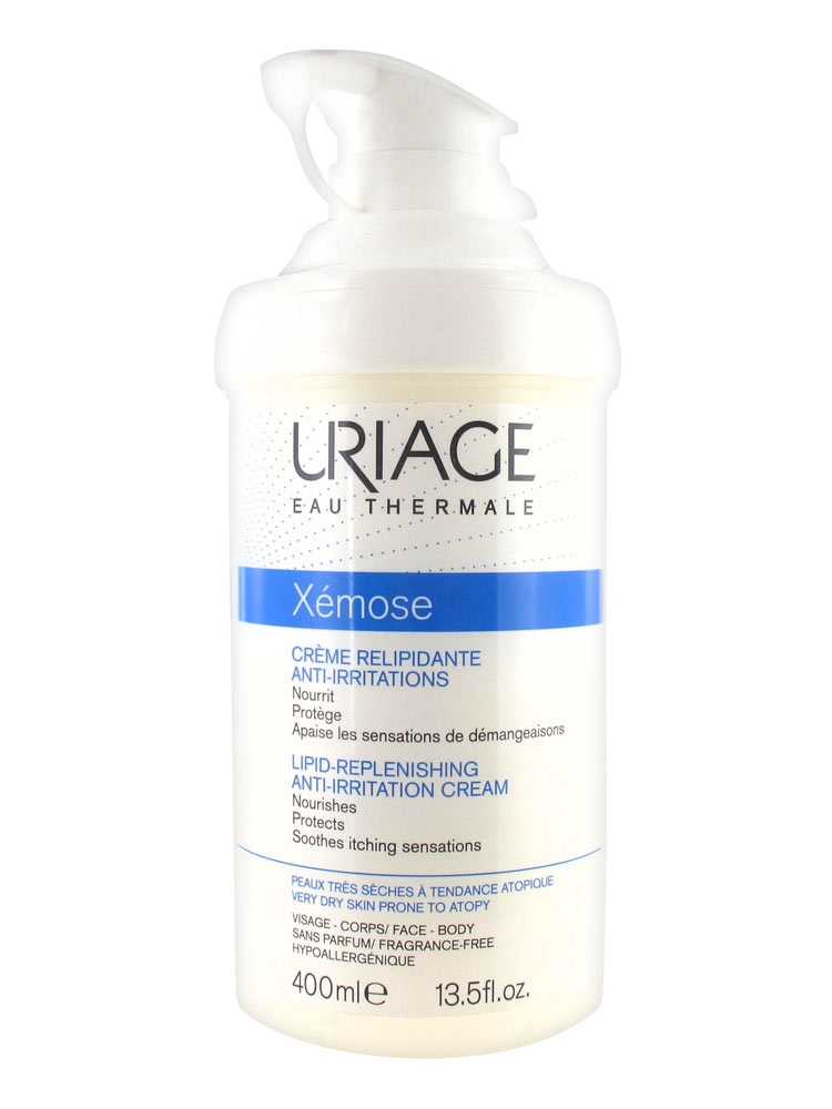Uriage Xemose - Lipid Replenishing Anti -Irritation Cream- 400ml
