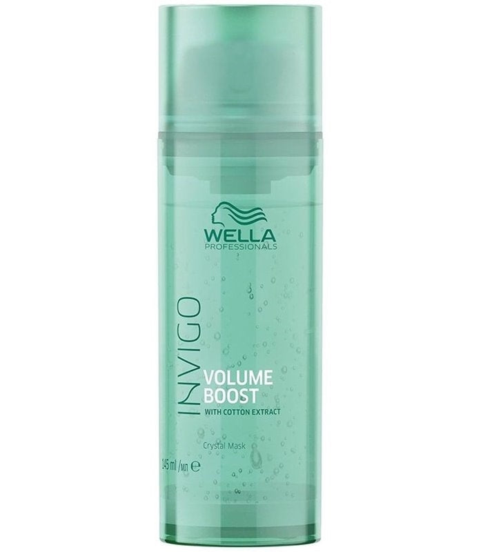 Wella Professionals Invigo Volume Boost Crystal Mask, 145 ml