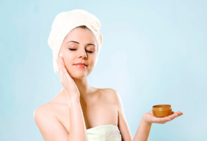 Apply Skin care products