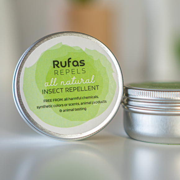 Rufas Repels Insect Repellent Balm [SAMPLE SIZE]
