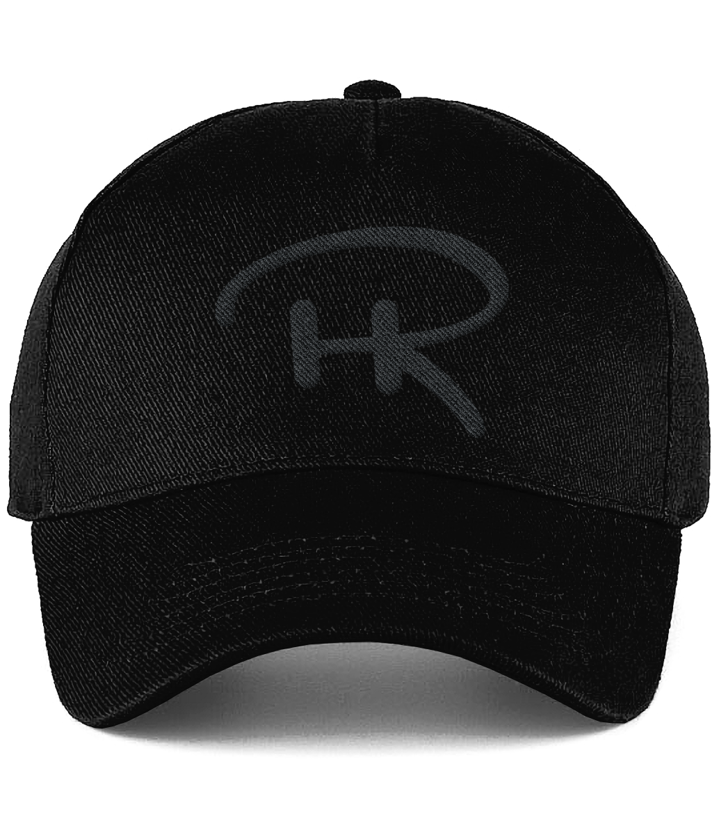 Rodd Hogg Ultimate Cotton Cap (Black On Black)