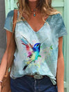 Bird Ink Print T-shirt