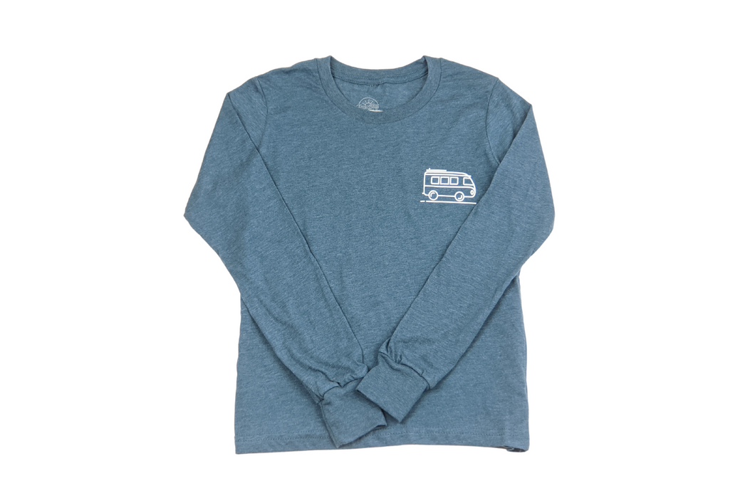 Surf Bus- Long Sleeved Tee