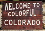 Welcome to Colorful Colorado Magnet