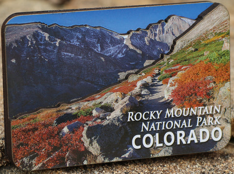 Rocky Mountain National Park 3D Magnet
