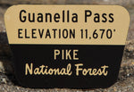 Guanella Pass Sign Magnet