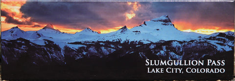 Slumgullion Pass Panorama Magnet