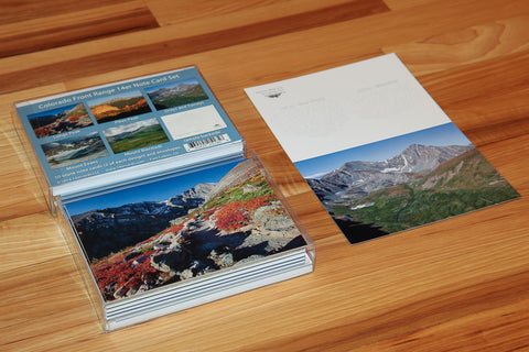 Colorado Front Range 14er Greeting Cards
