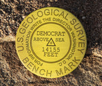 Mount Democrat Summit Marker Magnet