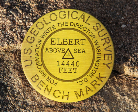 Mount Elbert Summit Marker Magnet
