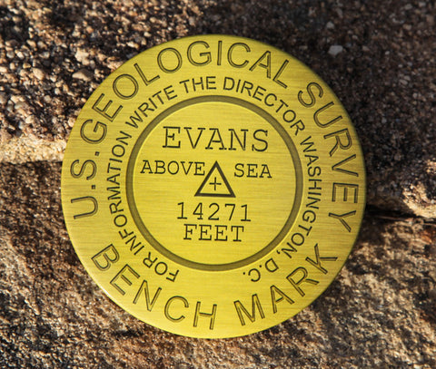 Mount Evans Summit Marker Magnet