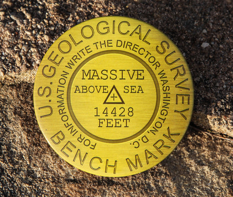 Mount Massive Summit Marker Magnet