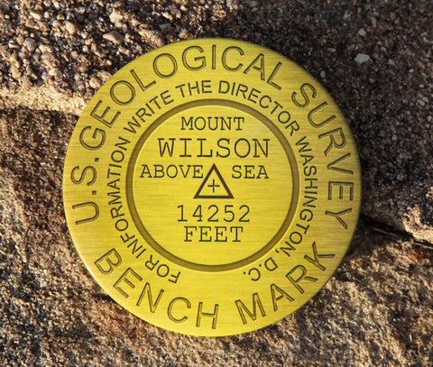 Mount Wilson Summit Marker Magnet