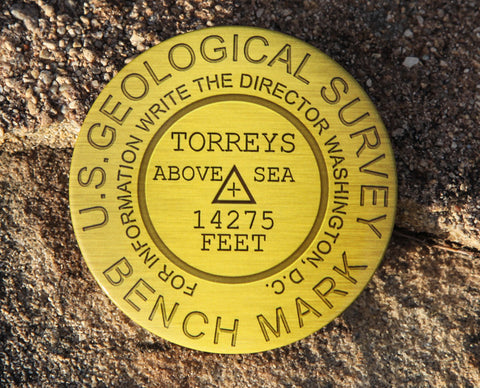 Torreys Peak Summit Marker Magnet
