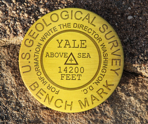 Mount Yale Summit Marker Magnet