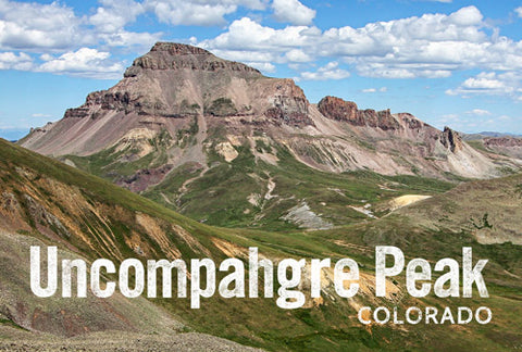 Uncompahgre Peak Postcard 4x6""