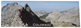 Little Bear - Blanca Traverse Panorama Magnet