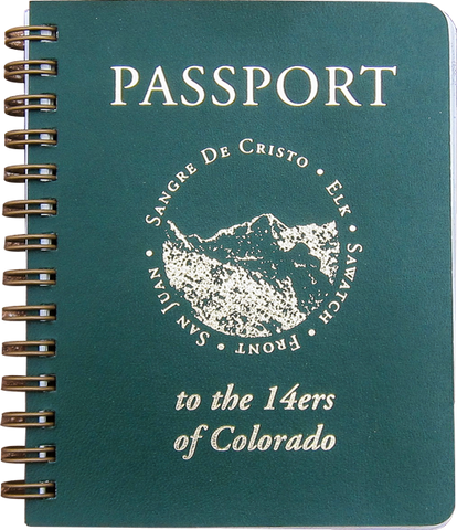 14ers of Colorado Passport Journal