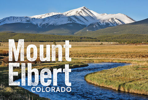 Mount Elbert Postcard 4x6""