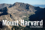Mount Harvard Postcard 4x6""