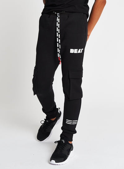 Beat Boyz Club Boys Streetwear Axis Black Jogger