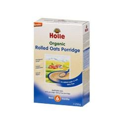 Holle Baby Rolled Oats, 250 g image