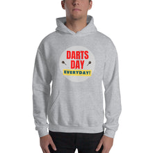Laden Sie das Bild in den Galerie-Viewer, DARTS DAY IS EVERYDAY - Dart Kapuzenpullover