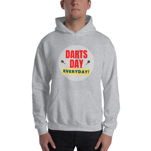 DARTS DAY IS EVERYDAY - Dart Kapuzenpullover