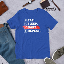 Laden Sie das Bild in den Galerie-Viewer, Eat. Sleep. DART. Repeat! - Dart T-Shirt