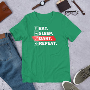 Eat. Sleep. DART. Repeat! - Dart T-Shirt
