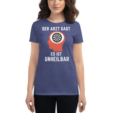 Laden Sie das Bild in den Galerie-Viewer, Frauen Kurzärmeliges T-Shirt