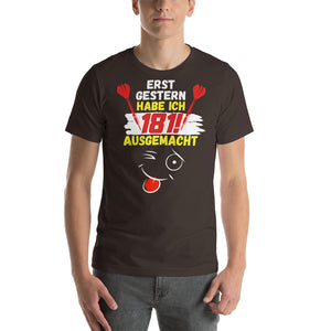181 ausgemacht! Darts-FUN T-Shirt