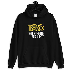ONE HUNDRED AND EIGHTY! Dart Kapuzenpullover