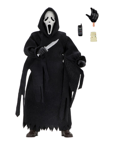 "NECA SCREAM Ghost Face 8"" Clothed Action Figure"