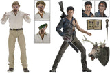 "Evil Dead 2 Hero Ash & Ed Getley 30th Anniversary 7"" Action Figure 2 Pack"