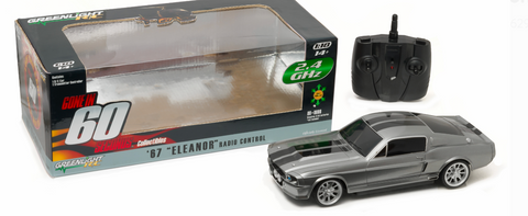 "Greenlight Gone in Sixty Seconds 1967 Ford Mustang ""Eleanor"" 2.4 Ghz Remote Control (1:18 Scale) Vehicle"