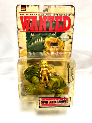 Marvel Collector Editions Marvel's Most Wanted - Spat and Grovel Action Figures
