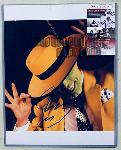 Jim Carrey Autographed The Mask Picture - JSA Certified