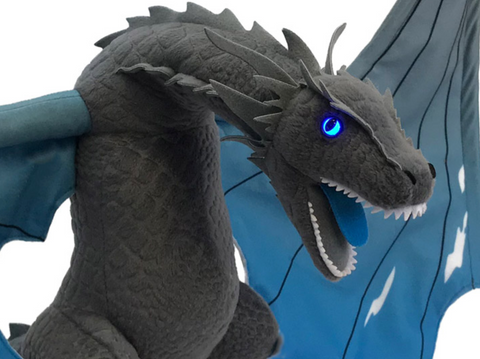 Game of Thrones Plush Icy Viserion Dragon