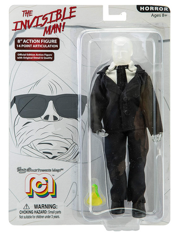 "Mego Retro The Invisible Man 8"" Action Figure"