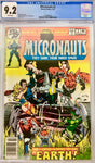 Marvel Comics Group The Micronauts They Came From Inner Space #2 CGC 9.2