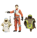 Star Wars The Force Awakens Epic Battles Poe Dameron Armor UP Action Figure