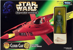 Star Wars Expanded Universe Cloud Car with Exclusive Cloud Car Pilot Action Figure