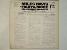 Load image into Gallery viewer, Miles Davis - 'Four' & More - Recorded Live In Concert (LP/Used)