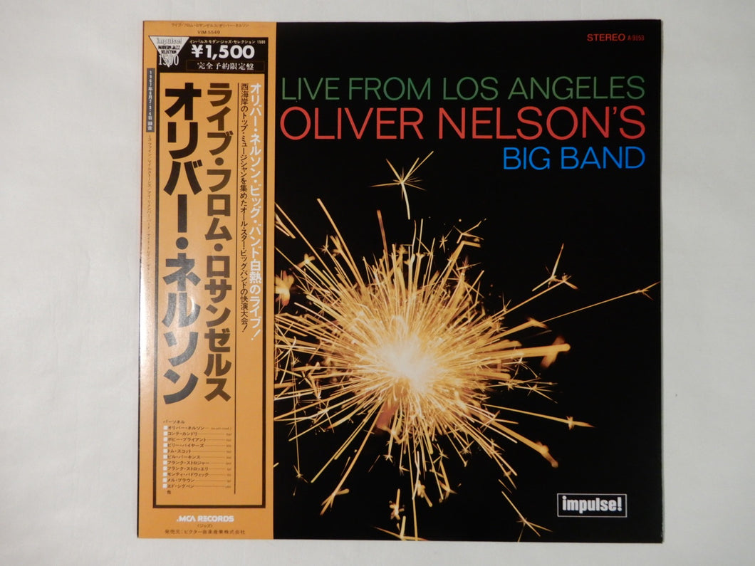 Oliver Nelson's Big Band Live From Los Angeles MCA Records VIM-5549