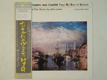 Load image into Gallery viewer, The Modern Jazz Quartet - No Sun In Venice (LP/Used)