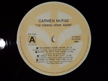 Load image into Gallery viewer, Carmen McRae I'm Coming Home Again Trio Records PA-3155/56