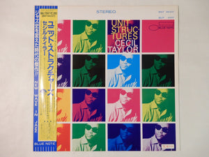 Cecil Taylor Unit Structures Blue Note BNJ 71047