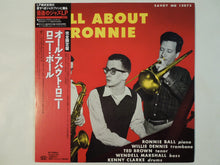 Load image into Gallery viewer, Ronnie Ball - All About Ronnie (LP-Vinyl Record/Used)